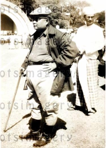 President Mahn Win Maung in 1961