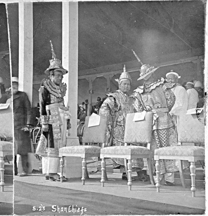 Shan Chiefs at 1903 Delhi Durbar