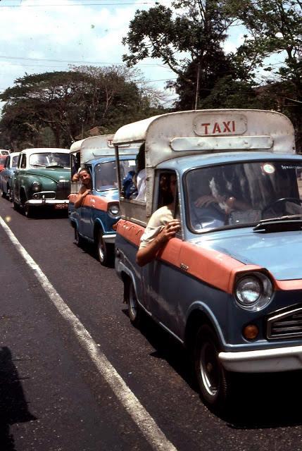 Prome Road Traffic Jam c. 1975