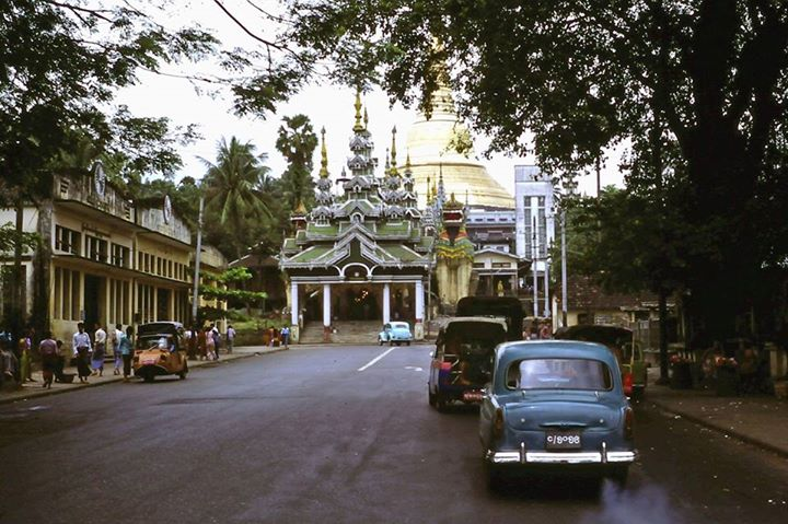 Driving to the Shwedagon 1978