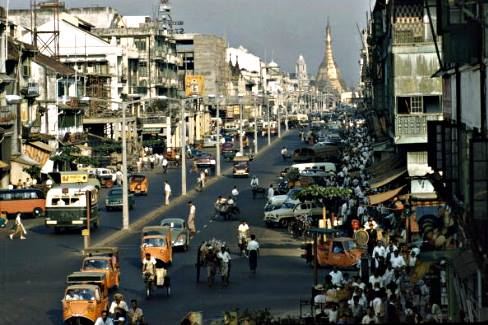 Dalhousie Street the Day Before Military Rule: 1 March 1962
