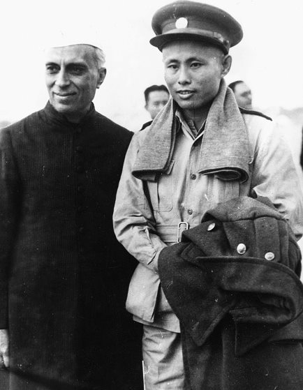 U Aung San's Historic Meeting with Pandit Nehru