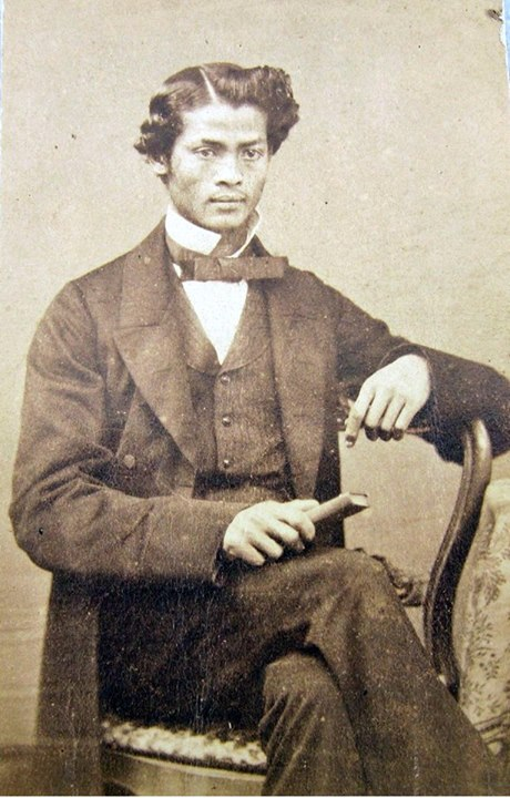 Portrait of an unidentified Burmese gentleman c. 1870, Cornwall, UK.