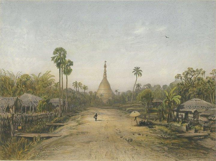 Pagoda Road, 1863
