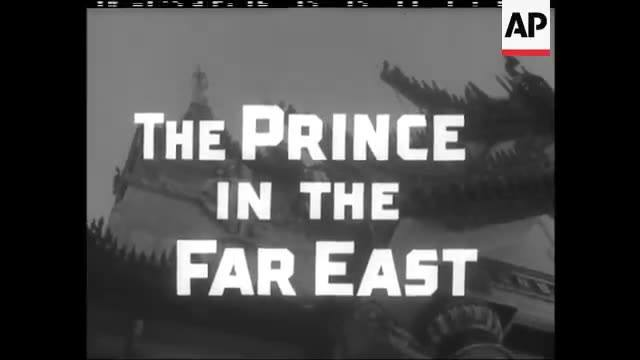 HRH Prince Philip's Visit to Rangoon in 1959