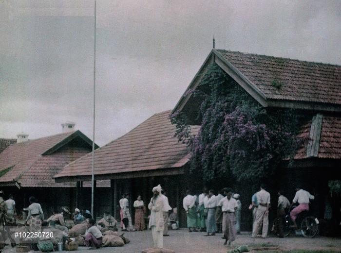 Kalaw Railway Station c. 1952
