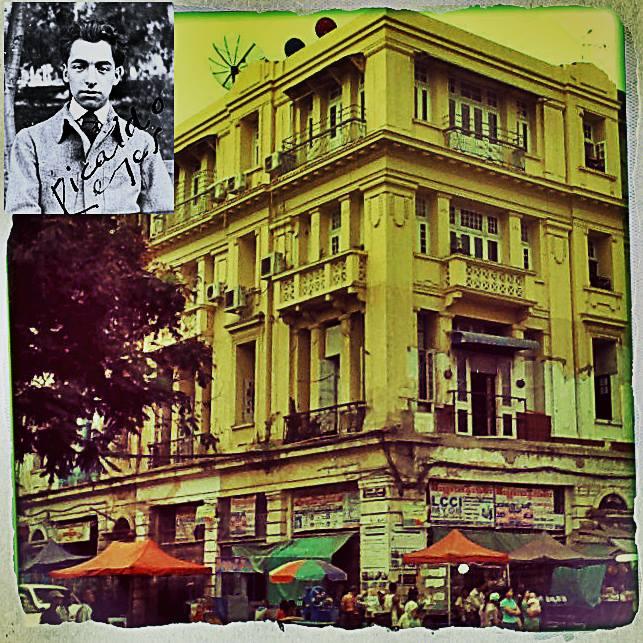 Nobel Prize Winner Chilean poet Pablo Neruda once lived in Rangoon