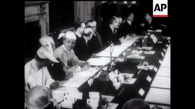 Signing of Nu-Attlee Agreement