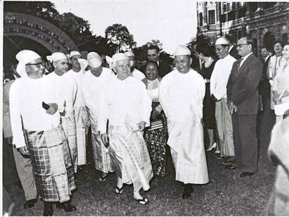 Landmark Visit to Burma of David Ben-Gurion,Founder and First Prime Minister of Israel