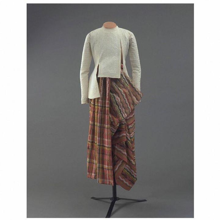 ၁၉ ရာစုနှောင်းပိုင်းက မြန်မာအမျိုးသားများ၏ ဝတ်စုံ