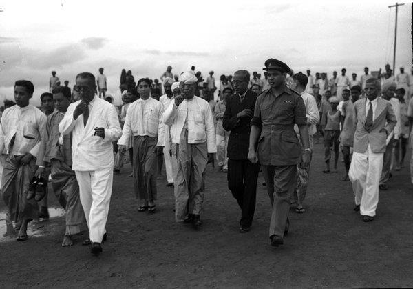 Foreign minister U E Maung's Visit to India 1949
