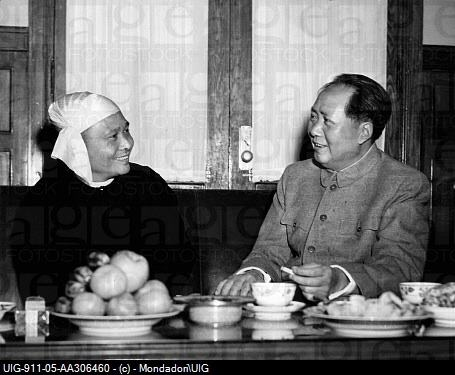 U Nu's visit to China in 1954