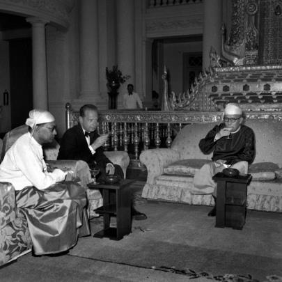 Dag Hammarskjold's Visit to Rangoon