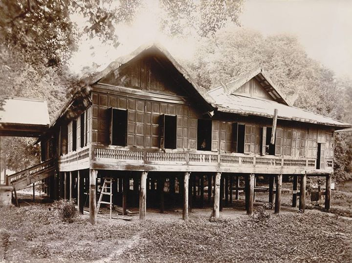 King Thibaw's School