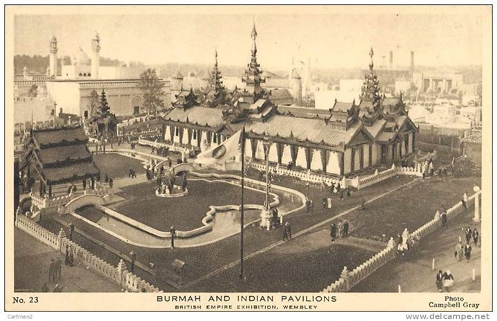 "A little Burma in England: the ""British Empire Exhibition"" of 1924-5"