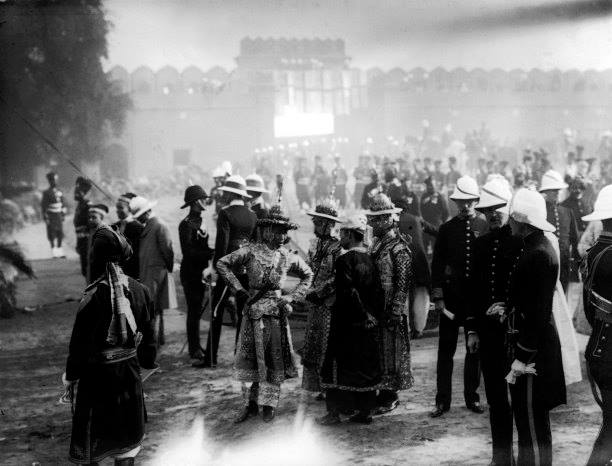 Shan Chiefs at 1911 Delhi Durbar