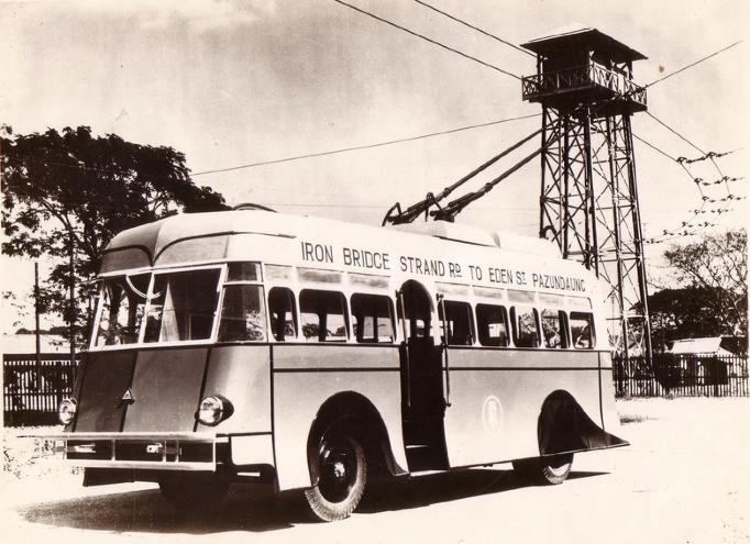 ၁၉၃၅ ခုနစ်ဝန်းကျင်က ရန်ကုန်ဓာတ်ရထား