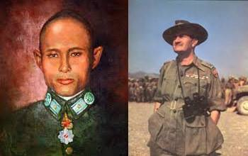Relationship Between Lt. General Slim and General Aung San