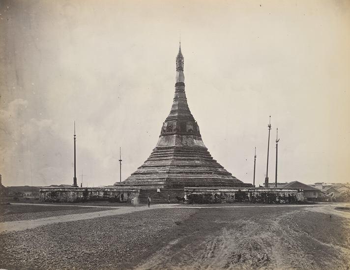 ၁၈၆၅ ခုနှစ်ဝန်းကျင်က ဆူးလေဘုရား