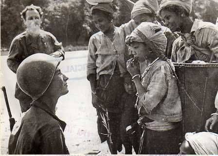 American Soldier in Kachin in 1944
