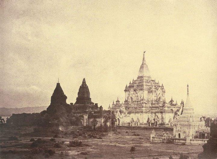 Bagan in 1855