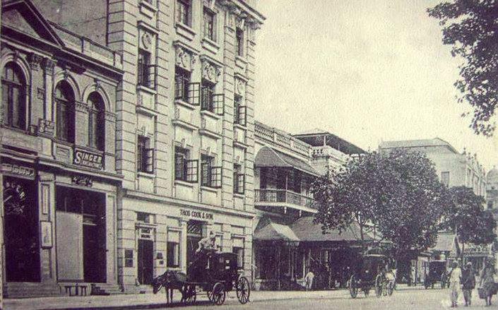 ၁၉၁၀ ပြည့်နှစ်များက ဖယ်ရာလမ်း (ပန်းဆိုးတန်းလမ်း)
