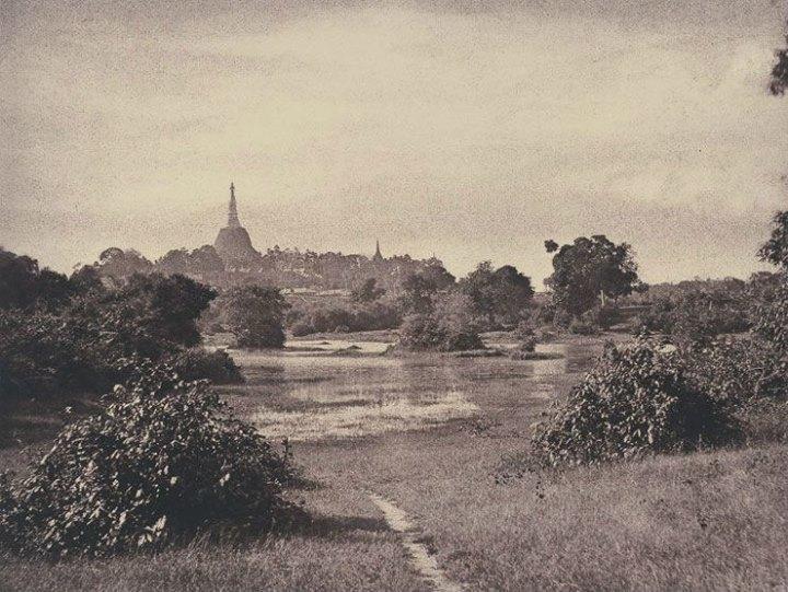 ၁၈၅၅ ခုနှစ်က ရွှေတိဂုံဘုရား ပုံတော်