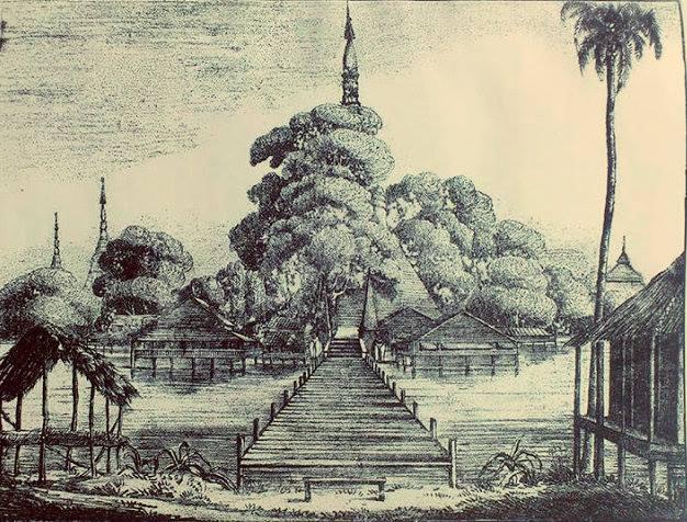 ၁၈၂၄ ခုနှစ်ဝန်းကျင်က ဆူးလေဘုရား