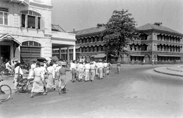 ၁၉ ၄၉ ခုနှစ် အစိုးရဆန္ဒပြပွဲ မြင်ကွင်း