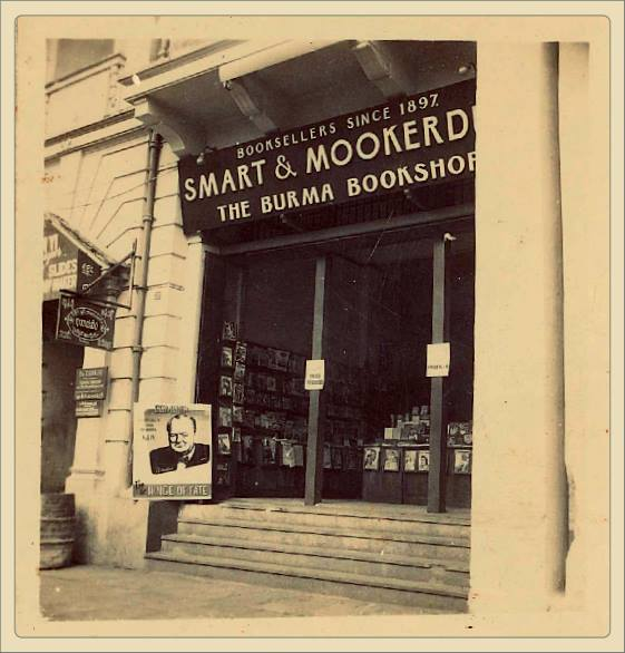 George Orwell's favourite bookshop in Rangoon
