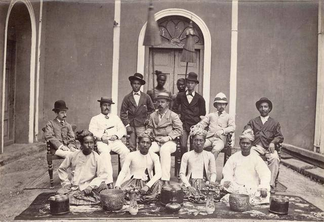 A Rangoon office c.1870