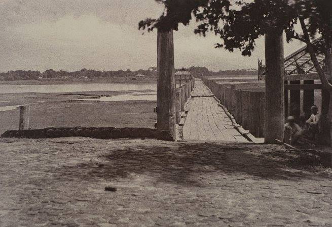 U Bein bridge October 1855.