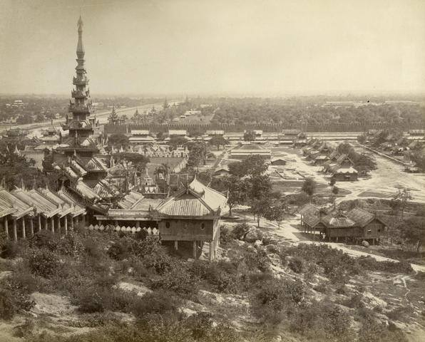Mandalay during the reign of King Mindon (c. 1875)