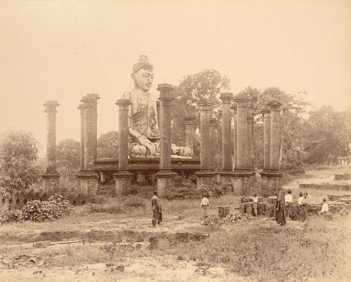 ၁၈၉ ၀ ပြည့်နှစ်ဝန်းကျင် ဝင်္ကပါလမ်းရှိ ၁၆ ရာစုနှစ်က ဗုဒ္ဓရုပ်ပွားတော်
