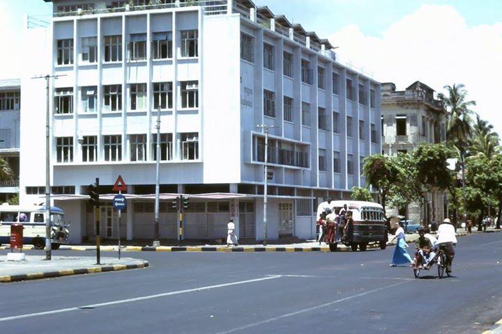 An Image of Yangon Downtown c. 1986