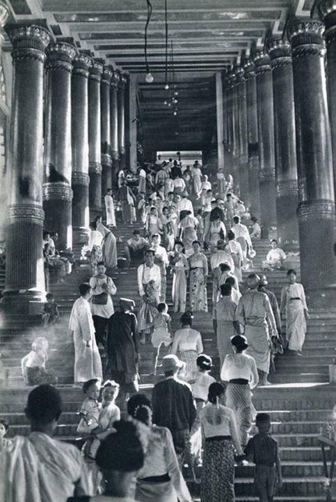 Shwedagon Pagoda 1948