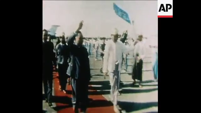 The first Chinese leader to visit Myanmar