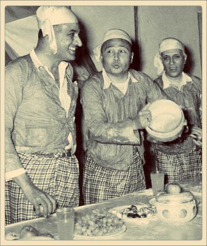 နေရူး၊ နတ်ဆာနှင့် ဦးနုတို့ ၁၉၅၅ ခုနစ်က သင်္ကြန်ပွဲ ဆင်နွှဲစဥ်