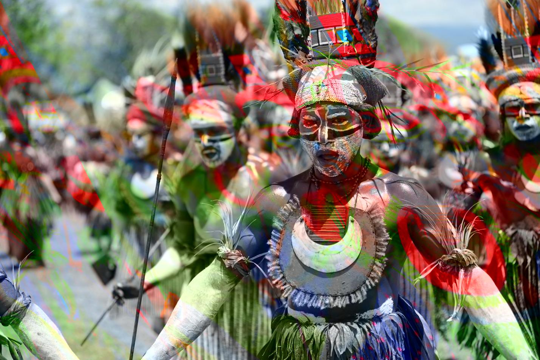 A recent festival in Papua New Guinea.