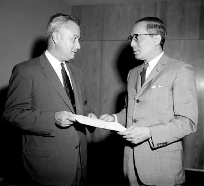 James Barrington with U Thant