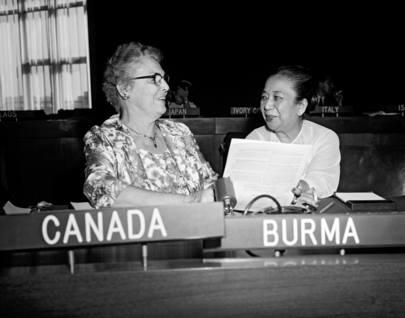 Daw Mya Sein in UN