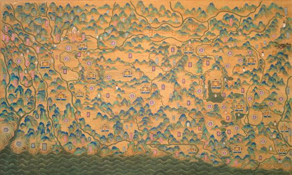 ၁၉ ရာစုခန့်က မြန်မာ-ယူနန်နယ်စပ်ပြပုံ (Credit: Eric vanden Bussche)